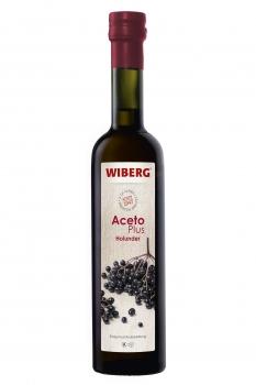 AcetoPlus Holunder - Essigfruchtzubereitung - 2,2% Säure - WIBERG - 500 ml