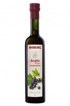 AcetoPlus Johannisbeere - Essigfruchtzubereitung - 2,6% Säure - WIBERG - 500 ml