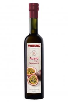 AcetoPlus Passionsfrucht Essig-Fruchtzubereitung - 3,7% Säure - WIBERG - 500 ml