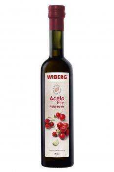 AcetoPlus Preiselbeere Essig-Fruchtzubereitung - 2,2% Säure - WIBERG - 500 ml