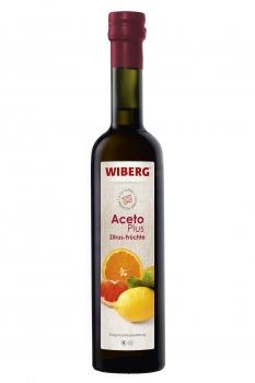 AcetoPlus Zitrus-Früchte Essig-Fruchtzubereitung - 5,5 % Säure - WIBERG - 500 ml