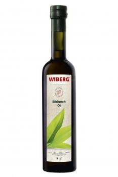 Bärlauch-Öl, Natives Oliven-Öl Extra 99,9% mit Bärlauch-Extrakt - WIBERG - 500 ml