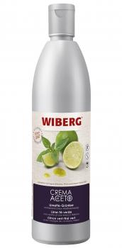 Crema di Aceto Limette-Grüntee - Essigzubereitung - WIBERG - 500 ml