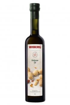 Erdnuss-Öl, kaltgepresst, aus gerösteten Erdnüssen - WIBERG - 500 ml