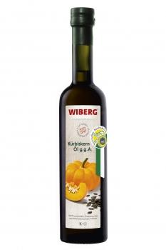 Kürbiskern-Öl, g.g.A. 100% sortenrein - WIBERG - 500 ml