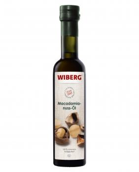 Macadamianuss-Öl, 100% sortenrein, kaltgepresst - WIBERG - 250 ml