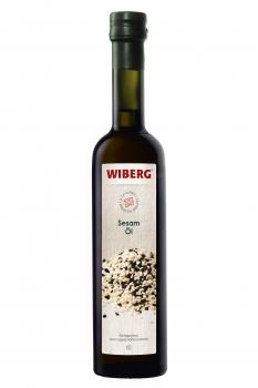 Sesam-Öl, kaltgepresst aus ungeschälten Samen - WIBERG - 500 ml