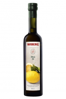 Zitrus-Öl, Natives Oliven-Öl Extra 99,5% mit natürlichem Aroma - WIBERG - 500 ml