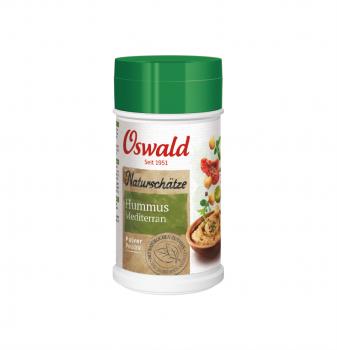 Hummus Mediterran - OSWALD Naturschätze - 180 g