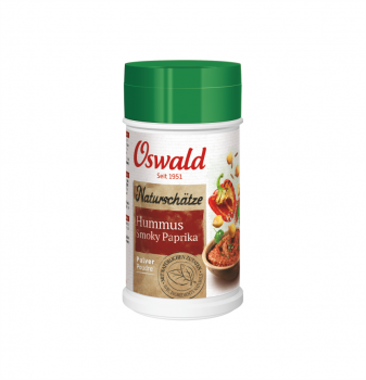 Hummus Smoky Paprika - OSWALD Naturschätze - 180 g