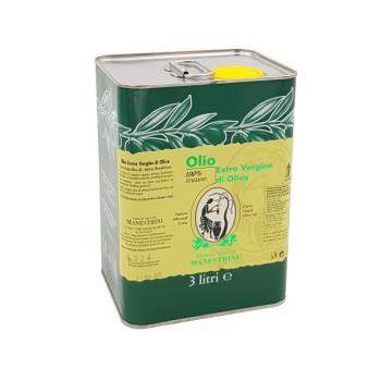 Olio extra vergine di Oliva - MANESTRINI - 3000 ml