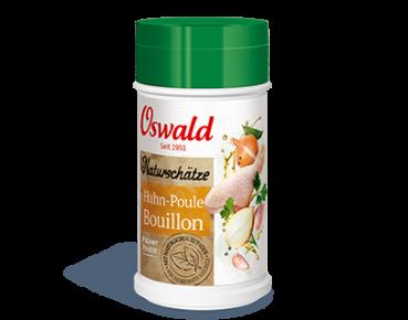 Hühnerbouillon Naturschätze / Pulver - OSWALD Naturschätze - 200 g