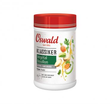 Végétal fettfreie Gemüsebouillon / Pulver - OSWALD Klassiker - 800 g