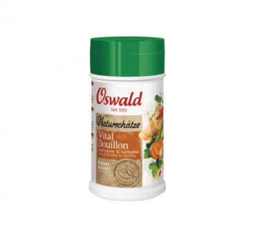 Vital Bouillon Naturschätze / Gewürzbouillon / Pulver - OSWALD Naturschätze - 220 g