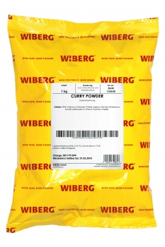 Curry Powder - Gewürzmischung - Aroma-Beutel - WIBERG Basic - 1000 g