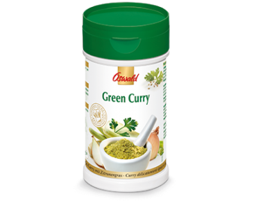 Green Curry Würzmischung - OSWALD - 190 g