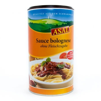 ASAL Sauce Bolognese - rein pflanzlich - 250 g Dose