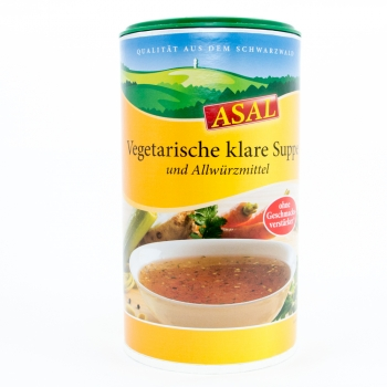 Vegetarische klare Suppe - ASAL - 280 g